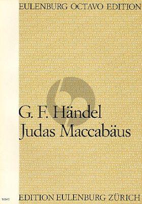 Handel Judas Maccabeus Soli-Chor-Orchester Partitur (Arthur D. Walker)