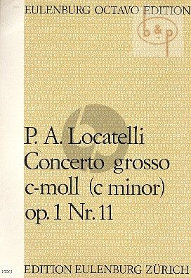 Concerto Grosso c-moll Op.1 / 11 (String Orch.)