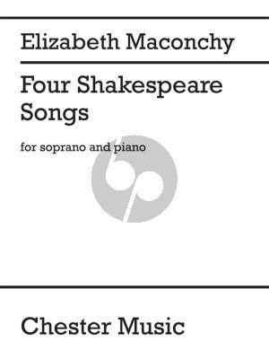 Maconchy 4 Shakespeare Songs Soprano-Piano