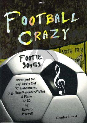 Maxwell Football Crazy Flute (Bk-Cd)