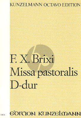 Brixi Missa Pastoralis D-Dur Soli-Chor-Orchester Paritur