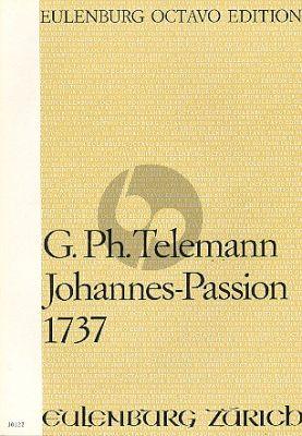 Telemann Johannes-Passion 1737 TWV 5:22 Soli-Chor-Orchester Partitur (Felix Schroeder)