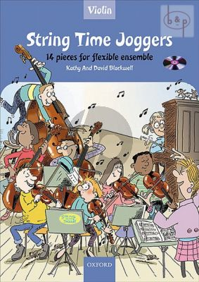 Blackwell String Time Joggers for Violin (Bk-Cd)