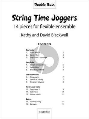 Blackwell String Time Joggers Double Bass Part (Book only)