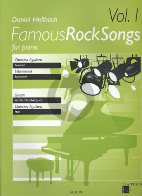 Famous Rock Songs Vol.1 Piano