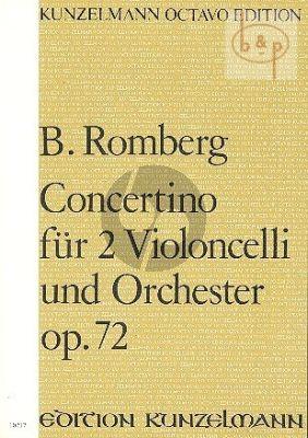 Concertino A-major Op.72