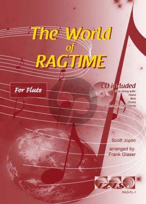 The World of Ragtime for Flute (Bk-Cd) (arr. Frank Glaser)