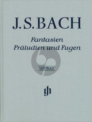 Bach Fantasien-Praeludien & Fugen (Clothbound) (Henle-Urtext)