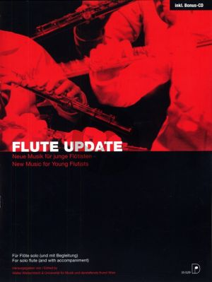 Flute Update (New Music for Young Flutists) Flute with Piano Accomp. (Book-CD) (edited by W.Wretschitsch)