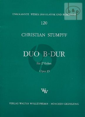 Duett B-Dur Op.15