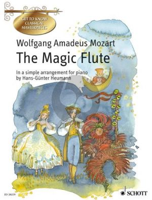 Mozart The Magic Flute KV 620 Piano (simple arr.by G.Heumann)