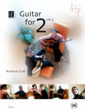 Guitar for Two Vol.3 (2 Guitars) (Bk-Cd)