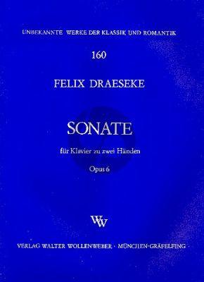 Draeseke Sonate Op.6 Klavier