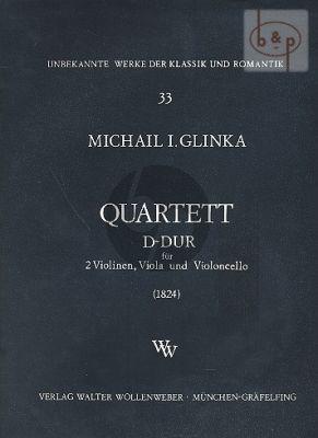 Quartet No.1 D-major
