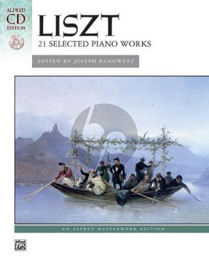 Liszt 21 Selected Piano Works (Bk-Cd) (Banowetz)