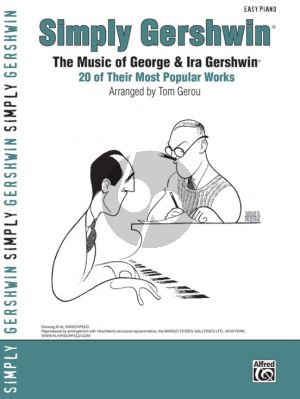Simply Gershwin (George & Ira Gershwin) (20 of their Most Popular Works) (Easy Piano) (arr.T.Gerou)
