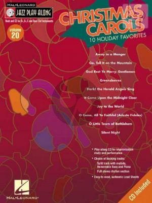 Christmas Carols (10 Holiday Favorites) (Jazz Play-Along Vol.20)