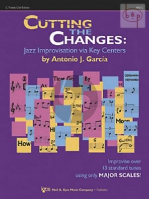 Cutting the Changes. Jazz Improvisation via Key Centers C treble clef ed.)