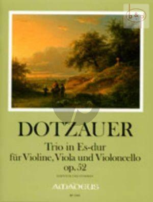 Grand Trio E-flat major Op.52 (Vi.-Va.-Vc.)
