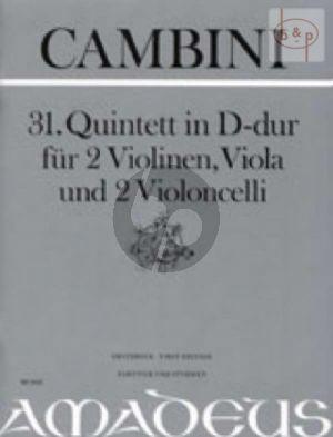 Quintet No.31 D-major (Score/Parts)