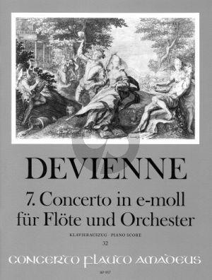 Devienne Concerto No.7 e-minor Flute and Orchestra (piano reduction) (edited by Rien de Reede)
