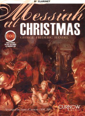 Handel Messiah at Christmas (Clarinet) (Bk with play-along/demo Cd) (arr.J.Curnow) (interm./advanced level)