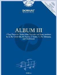 Album 3 (Easy) Treble-Recorder - CD