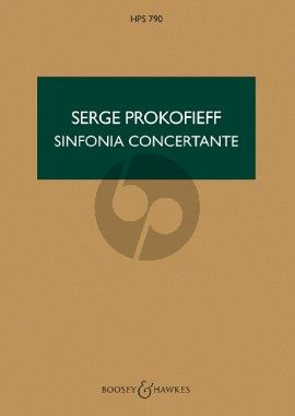 Sinfonia Concertante e-minor Op. 125 Cello and Orchestra