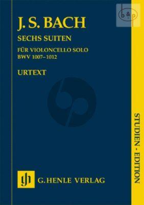6 Suites BWV 1007 - 1012 (Violoncello)