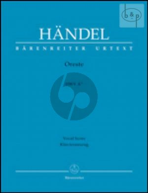 Oreste HWV A11 (Vocal Score)