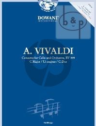 Concert in C-major RV 399 (Violoncello-Orch.) (piano red.)
