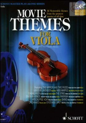 Movie Themes (Viola-Piano) (Bk-Cd) (CD with Full Performance-Play-Along and piano part to print)