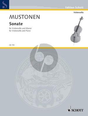 Mustonen Sonata Violoncello and Piano (2006)