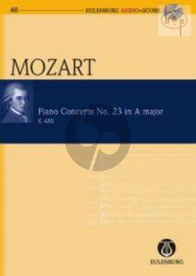 Concerto KV 488 A-major (No.23) (Piano-Orch.)