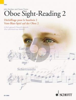 Kember/Purton Oboe Sight Reading Vol.2 (engl./french/germ.)