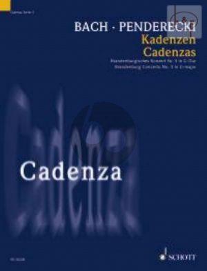 Cadenza to Bach's Brandenburg Concerto No.3 G-major