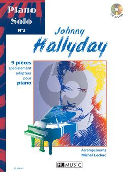 Hallyday 9 Pieces (arranged for piano by M.Leclec) (Bk-Cd) (grade 5-6)