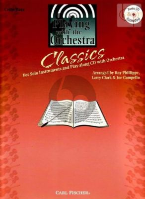 Playing with the Orchestra Classics (Cello/Bass)