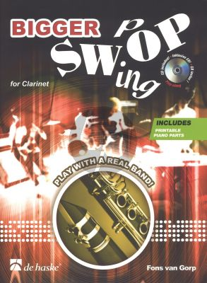 Gorp Bigger Swop for Clarinet (Bk-Cd) (CD includes printable piano parts) (interm. grade 4 - 5)