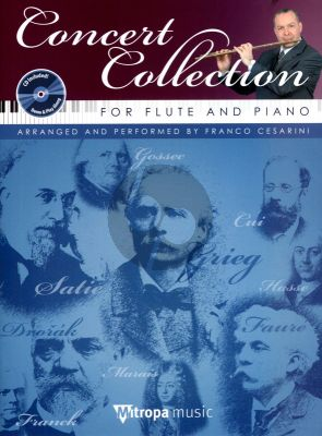 Concert Collection Flute-Piano (Bk-Cd) (CD with demo & play-along) (interm.)