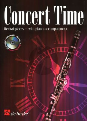 Concert Time Clarinet-Piano (Bk-Cd) (Play-Along with Demo) (grade 4 - 5)