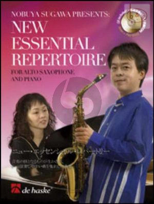 New Essential Repertoire (Alto Sax.-Piano) (Bk-Cd)