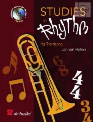 Studies in Rhythm (Trombone[TC/BC]) (Bk-Cd)
