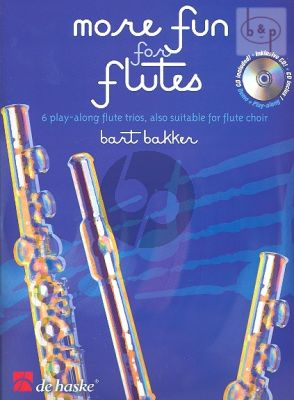 More Fun for flutes (3 Flutes or also suitable for flute choir) (Score/Parts) (Bk-Cd)
