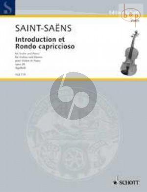 Introduction & Rondo Capriccioso Op.28