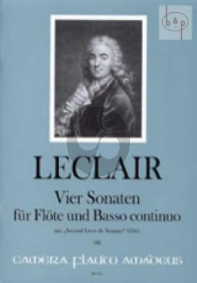 4 Sonatas (from Second Livre de Sonates) (1743)