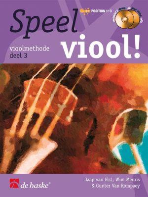 Speel Viool Vol.3 (Viool Methode) (Bk- 2 Cd's)