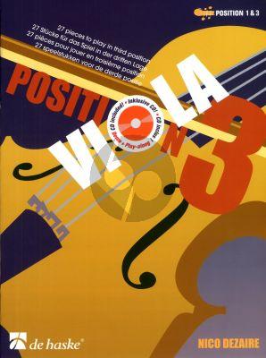 Dezaire Viola Position 3 (Altviool) (pos. 1 - 3) (Bk-Cd)