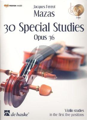 30 Etudes Speciales Op.36 (Pos.1 - 5) (Book-Cd[Demo])