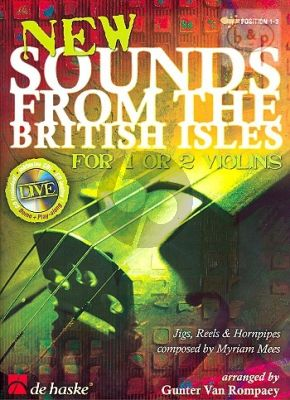 New Sounds from the British Isles (1 or 2 Violins) (Bk-Cd) (Pos.1 - 3)